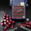 น็อตอลูมิเนียม Rays ของแท้จากญี่ปุ่น สีแดง 32MM มีทั้ง เกลียว 1.5 และ 1.25