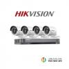 Hikvision (( Camera Set 4 )) (DS-2CE16D0T-IRx 4, DS-7204HQHI-K1x 1)