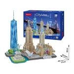 City Line New York City Size 37*22.5*42 cm Total 123 pcs.