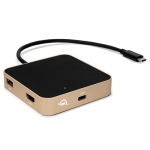 OWC USB-C Travel Dock 5-Port Gold