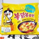 พร้อมส่ง ** Samyang Hot Chicken Ramen Cheese มาม่าเผ็ดเกาหลีแบบแห้ง รสชีส 140 กรัม มาม่าเกาหลี มาม่าเผ็ดเกาหลี