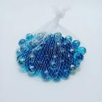 ลูกแก้ว สีฟ้าใส ไซส์ 1.6 มล. (16mm ) Colored Glass Bead Marbles Balls