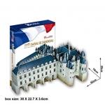 Chateau de Chenonceau วังเชอนงโซ Size 42*19*20 cm Total 116 pcs.