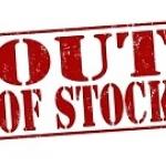 **Out of Stock** สินค้าหมด