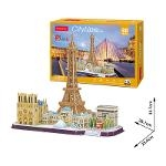 City Line Paris Size 38.1*25.4*32.7 cm Total 114 pcs.