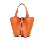 กระเป๋าหนัง Picotin size 23 (ส้ม)