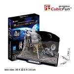 Apollp Lunar Module ยานลงดวงจันทร์ Size 29*20.1*17.8 cm Total 104 pcs.