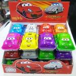 พร้อมส่ง ** Choco Egg - Super Racing Car BOX คันเหลี่ยม ไข่ช็อคโกแลตรูปรถแข่ง แถมของเล่น แพ็ค 24 ชิ้น (สินค้ามีอย.ไทย)
