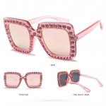 แว่นตา แฟชั่น GC style (Pink-เลนส์ปรอท)