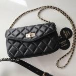 กระเป๋าหนังแกะ C belt classic bag