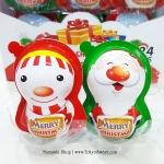 พร้อมส่ง ** Choco Egg - Merry Christmas ไข่ช็อคโกแลตคริสต์มาส แถมของเล่น 1 ลูก (สินค้ามีอย.ไทย)