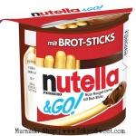 พร้อมส่ง ** Nutella & Go บิสกิตแท่งจิ้มช็อกโกแลตนูเทลล่า 52 กรัม