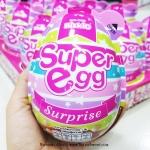Choco Egg - Super Egg Surprise ไข่ช็อคโกแลตลูกใหญ่เท่าฝ่ามือ สีชมพู แถมของเล่น