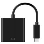 Macparts USB-C TO HDMI Adapter Black , สาย USB-C to HDMI อแด๊ปเตอร์ สีดำ
