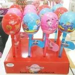 Super Lollipops อมยิ้มแท่งยักษ์ ด้านในเป็นอมยิ้มอันเล็กๆ รสผลไม้ บรรจุ 48 กรัม (ราคานี้เป็นราคา 1 อันนะคะ)