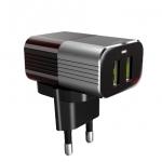 LDNIO Adaptive Travel Charger USB 2 Ports Adapter A2206 อุปกรณ์ชาร์ไฟ สำหรับ ไอโฟน,ไอแพด