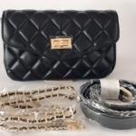 รีวิวกระเป๋าหนัง คาดเอว Chanel belt Classic bag