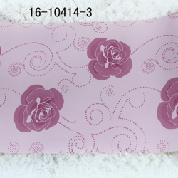 wallpaper ติดผนัง ลายดอกไม้สีชมพูหวานๆ