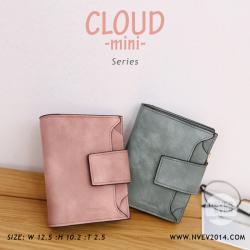 กระเป๋าสตางค์ผู้หญิง CLOUD-MINI สีเขียวทหาร