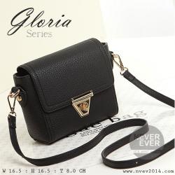 กระเป๋าสะพายข้าง รุ่น Gloria สีดำ