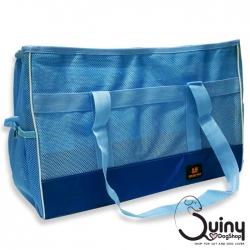 กระเป๋าใส่สุนัข DODOPET สีฟ้า