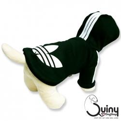 เสื้อสุนัข logo Adidog สีดำ