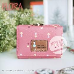 กระเป๋าสตางค์ผู้หญิง FLORA-Pink