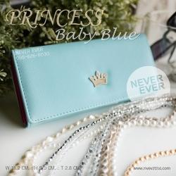 กระเป๋าสตางค์ผู้หญิง PRINCESS-Baby Blue