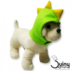 หมวกสุนัข ไดโนเสาร์ สีเขียว