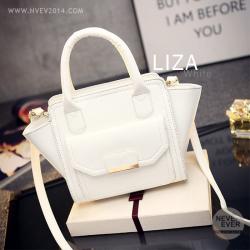 กระเป๋าสะพายข้าง รุ่น LIZA สีขาว
