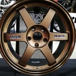 Rays TE37 18x8.5+40 5-114.3