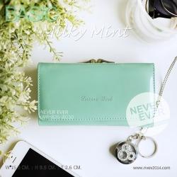กระเป๋าสตางค์ผู้หญิง BASIC-Milky Mint