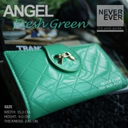 กระเป๋าสตางค์ผู้หญิง ANGEL-Fresh Green