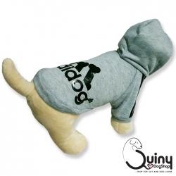 เสื้อสุนัข Adidog สีเทา (Size : S-7XL)