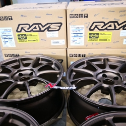 Rayswheel ZE40 18x8.5+35 5-114.3 Bronze