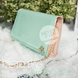 กระเป๋าสะพายข้างผู้หญิง PASTEL BAG-Milky Mint