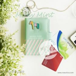 กระเป๋าใส่บัตร รุ่น UNICON - Milky Mint