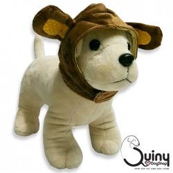 หมวกสุนัข กระต่าย สีน้ำตาล