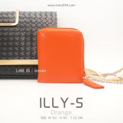 กระเป๋าสตางค์ผู้หญิง ILLY-S สีส้ม