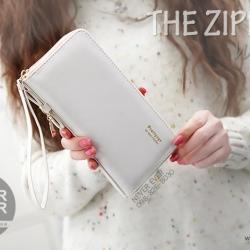 กระเป๋าสตางค์ผู้หญิง รุ่น THE ZIPPER-White