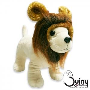 หมวกแมว สิงโต สีน้ำตาล