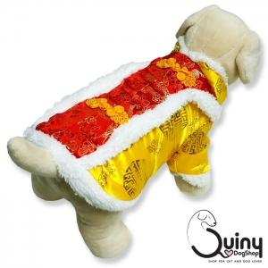 เสื้อสุนัข ตรุษจีน สีเหลือง