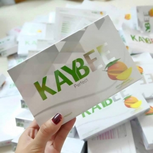"Kaybee Perfect (เคบี เพอร์เฟค) 4 กล่อง แถมฟรี 2 กล่องเล็ก ""หุ่นฟิต ชีวิตเปลี่ยน"""