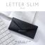 กระเป๋าสตางค์ผู้หญิง ใบยาว แบบบาง เรียบ รุ่น LETTER SLIM thumbnail 12