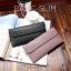 กระเป๋าสตางค์ผู้หญิง ใบยาว แบบบาง เรียบ รุ่น BASIC SLIM thumbnail 2