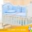 B10142 เตียงนอนเด็กไม้สีขาว (WW1) รุ่นอเนกประสงค์ปรับใช้ได้หลายฟังชันส์ thumbnail 3