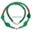 สร้อยเทอร์คอย Turquoise Necklace 6 มม. thumbnail 1