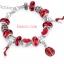 ข้อมือมูลาโน Murano glass beads Silver thumbnail 1