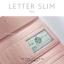 กระเป๋าสตางค์ผู้หญิง ใบยาว แบบบาง เรียบ รุ่น LETTER SLIM thumbnail 9