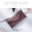 กระเป๋าสตางค์ผู้หญิง ใบยาว แบบบาง เรียบ รุ่น LETTER SLIM thumbnail 15